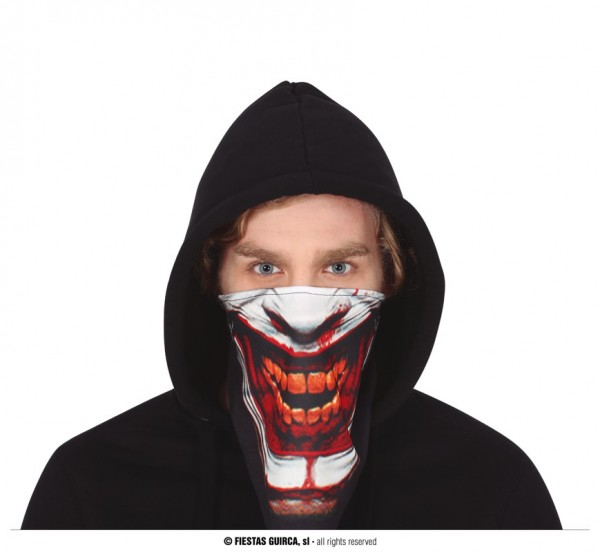 Gesichtstuch Horror- Horror Clown MNS