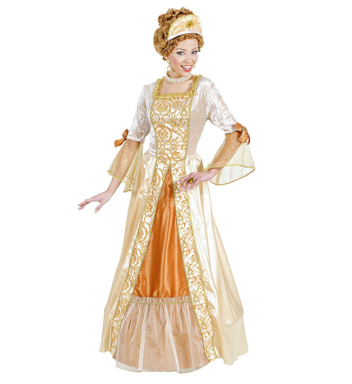 Goldenes Barock Kleid Größe MEDIUM