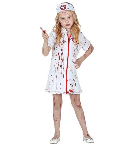 Blutige Krankenschwester Kleid Gr. 140
