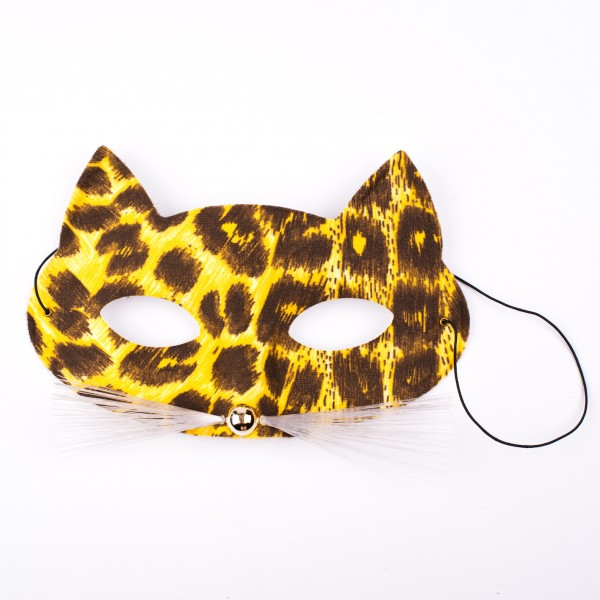 Maske Leopard