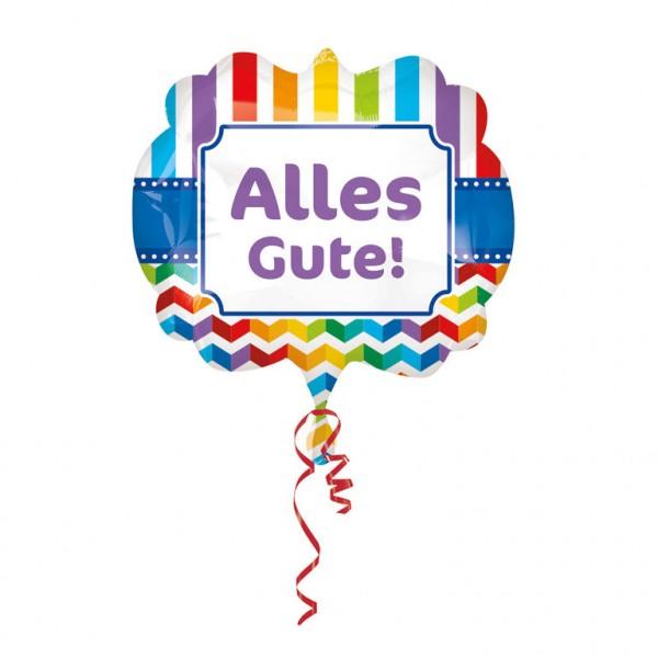 Großer Alles Gute Folienballon