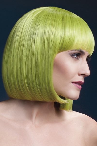 Elise Perücke pastel grün Premium Qualität