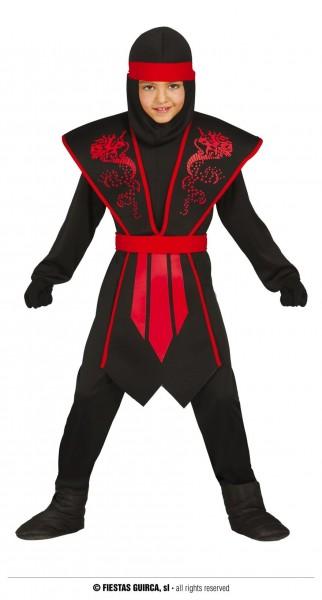 Ninja Kämpfer Kostüm 10-12 Jahre