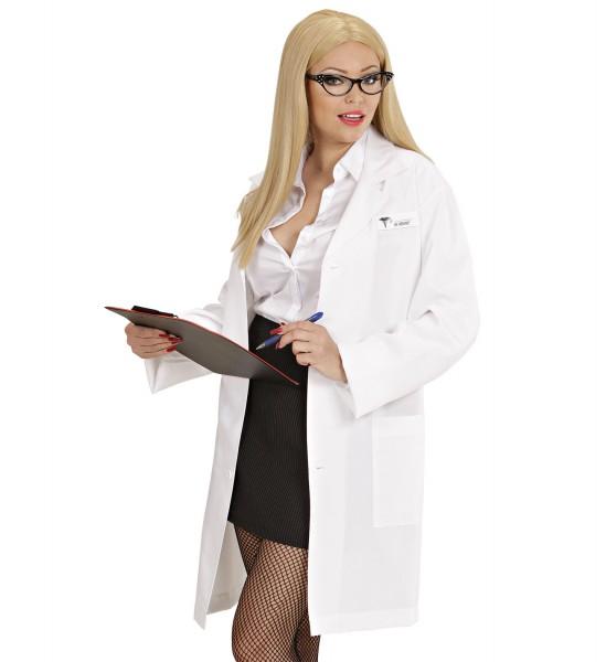 Doktor Mantel weiss MEDIUM