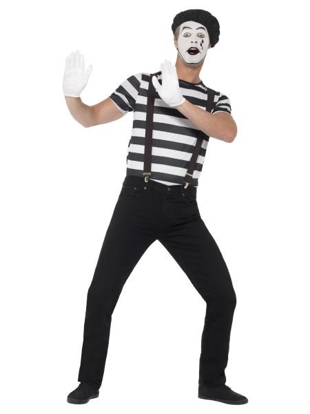 Pantomime Kostüm Set für Herren