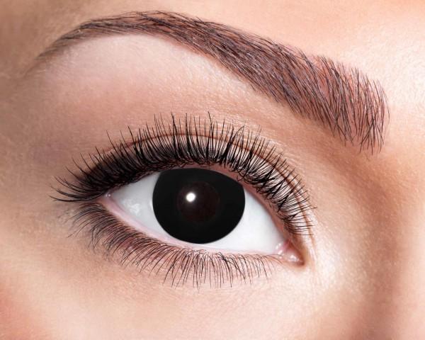 Kontaktlinsen black witch 3 Monate