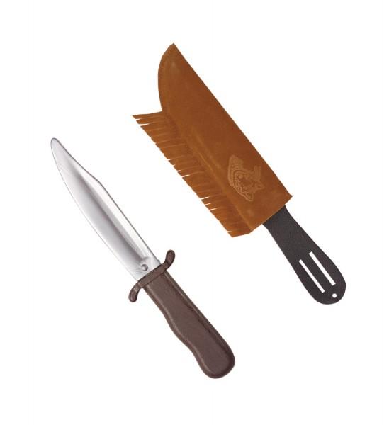 Indianer Messer mit Hülle