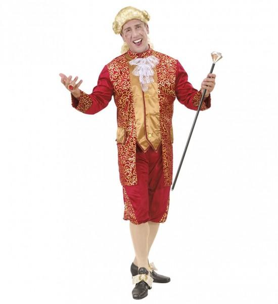 Marquise Barock Kostüm SMALL für Herren