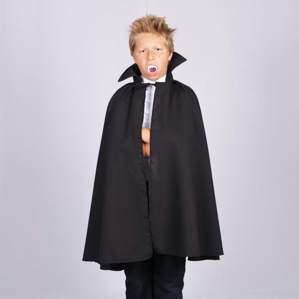 Dracula Umhang Cape LARGE für Kinder