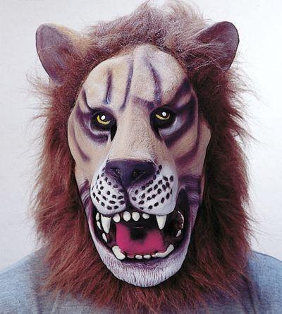Gummimaske Löwe