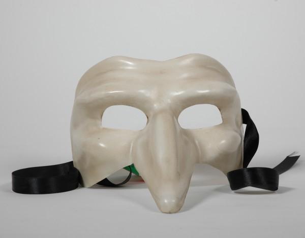 Venezianische Maske Capitano osso