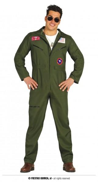 Piloten Overall grün 48-50