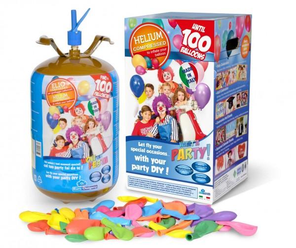 HeliumTank Set 100 Ballons