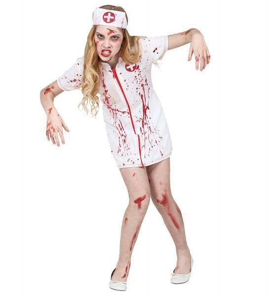 Blutiges Krankenschwester Kleid für Damen MEDIUM