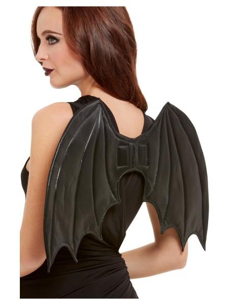 Fledermaus Flügel schwarz
