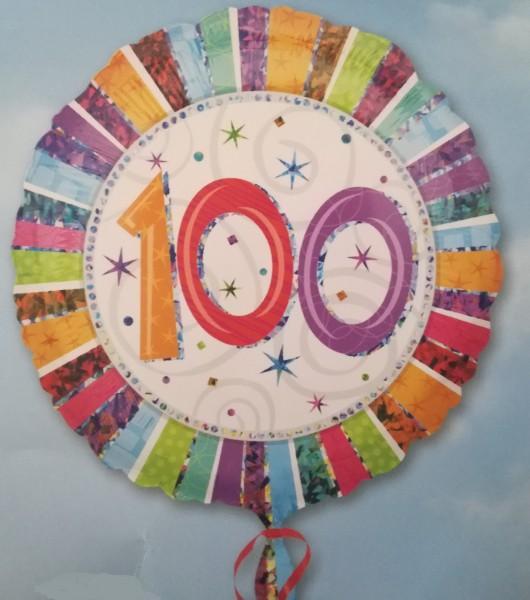 Luftballon zum 100 Jahre Geburtstag