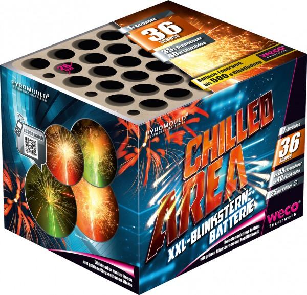 Feuerwerk Batterie Chilled Area 36 Schuß