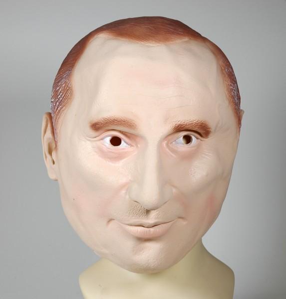 Putin Maske russischer Präsident