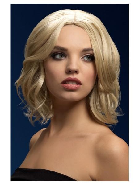 OLIVIA Perücke dunkel blond Premium Qualität