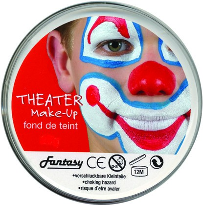 Theater Make Up 25gr WEISS (Clownweiss)