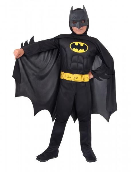 Batman Kostüm 8-10 Jahre Overall, Umhang und Maske