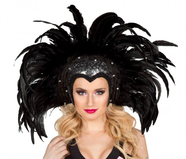 Feder-Kopfschmuck Showgirl