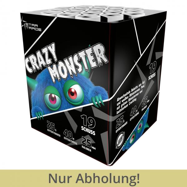 Crazy Monster 19 Schuss Batterie Feuerwerk
