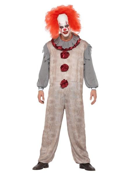 Horror Clown Kostüm LARGE für Erwachsene.