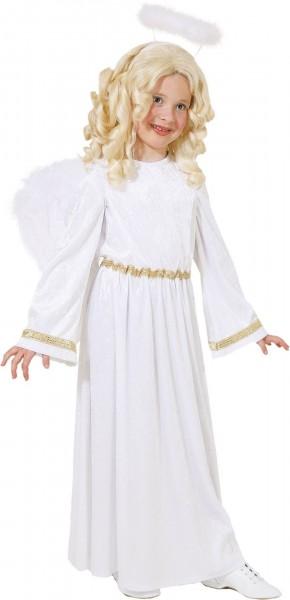 Engel Kleid weiss-gold Größe 140