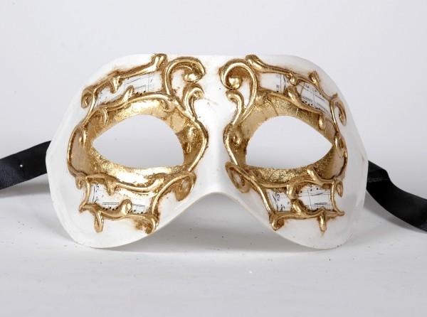 Venezianische Maske Columbine Sinfonia