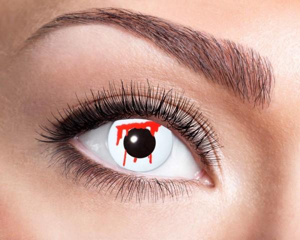 Kontaktlinsen white slash 3 Monate