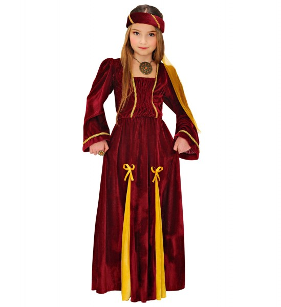 Mittelalter Prinzessin Kleid für Kinder Größe 128