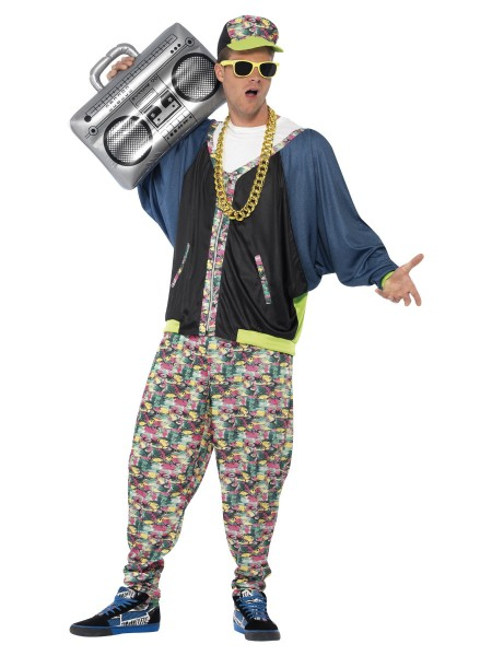 Hip Hop Kostüm 80er Jahre Style