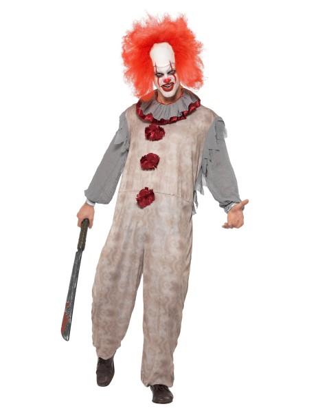 Horror Clown Overall MEDIUM für Erwachsene