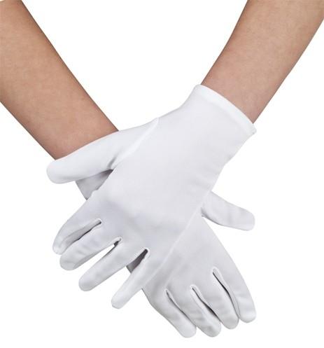 Handschuhe weiss Herren-Größe
