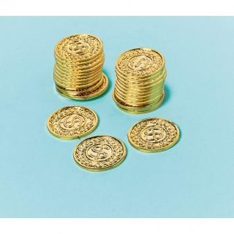 Packung mit 144 Goldmünzen