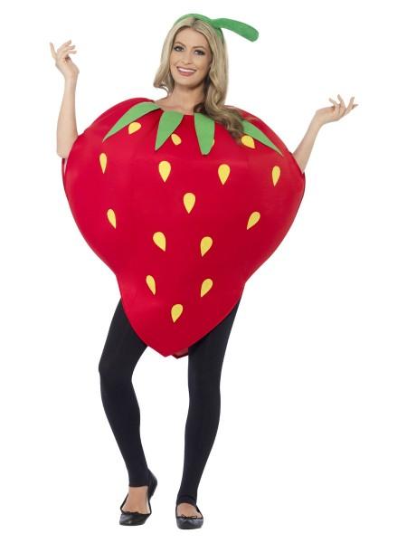 Erdbeer Kostüm für Erwachsene
