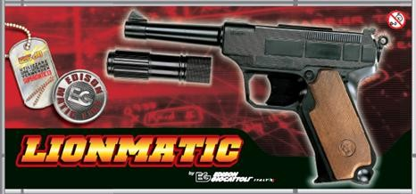 Lionmatic Pistole 13 SCHUSS