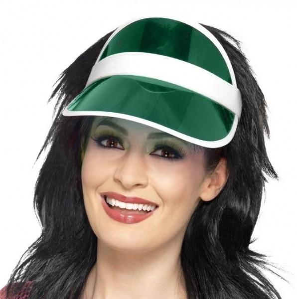 Stirnband Sonnenschutz Visier grün