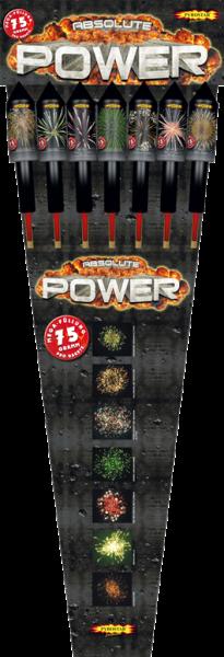 Absolut Power Raketensortiment 7teilig
