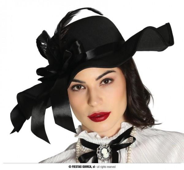 Damen Hut schwarz
