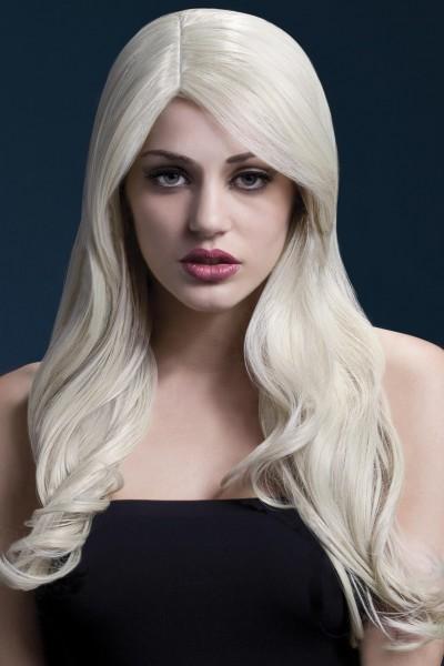 Nicole Langhaar Perücke blond Premium Qualität