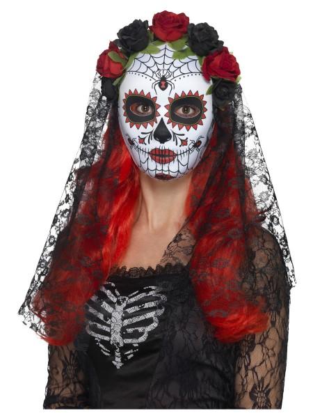 Day of Death Maske mit Schleier