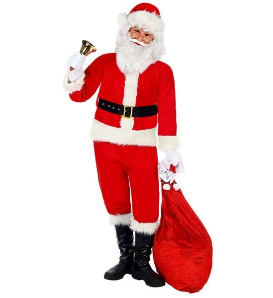 Weihnachtsmann Kostüm für Kinder Größe 128