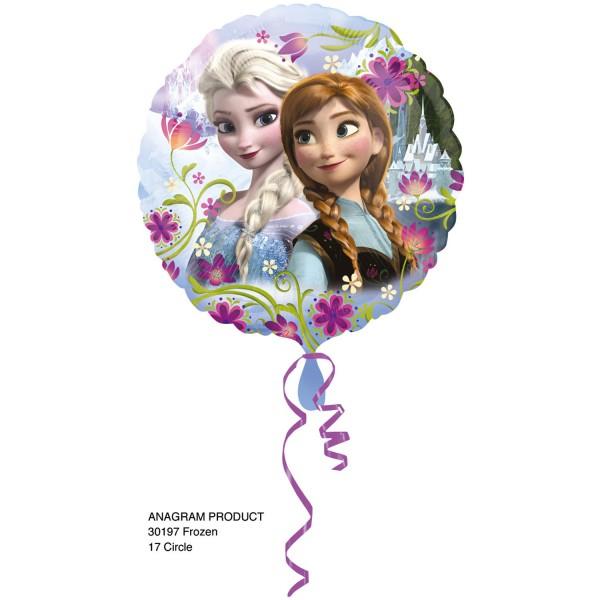 Frozen Ballon mit Elsa und Anna