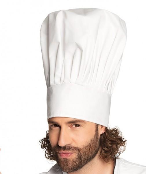 Kochmütze aus Stoff