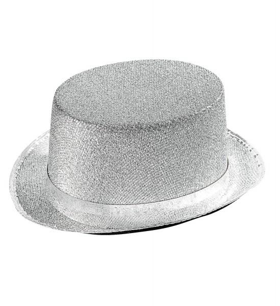 Zylinder silber-lurex