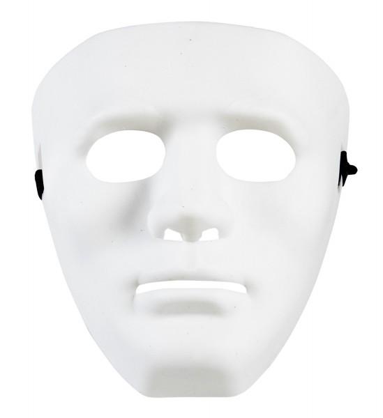 Maske ganzes Gesicht weiß