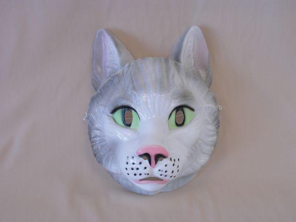 KATZE Maske Plastik für Erwachsene