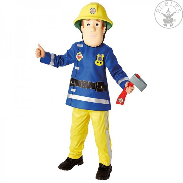 Fireman Sam Kostüm SMALL